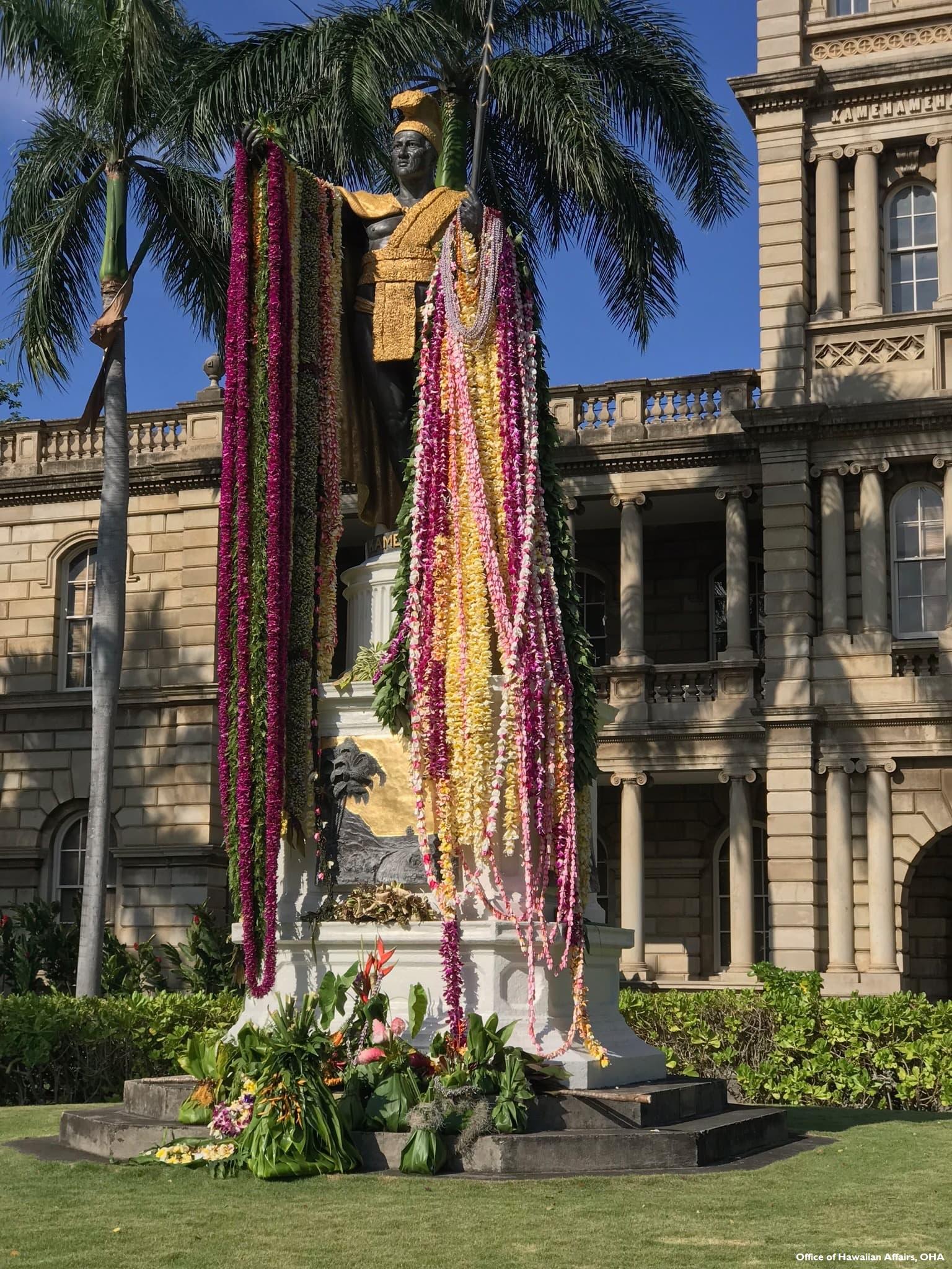 1.夏威夷卡美哈美哈國王雕像(OHA提供)(500k).jpg
