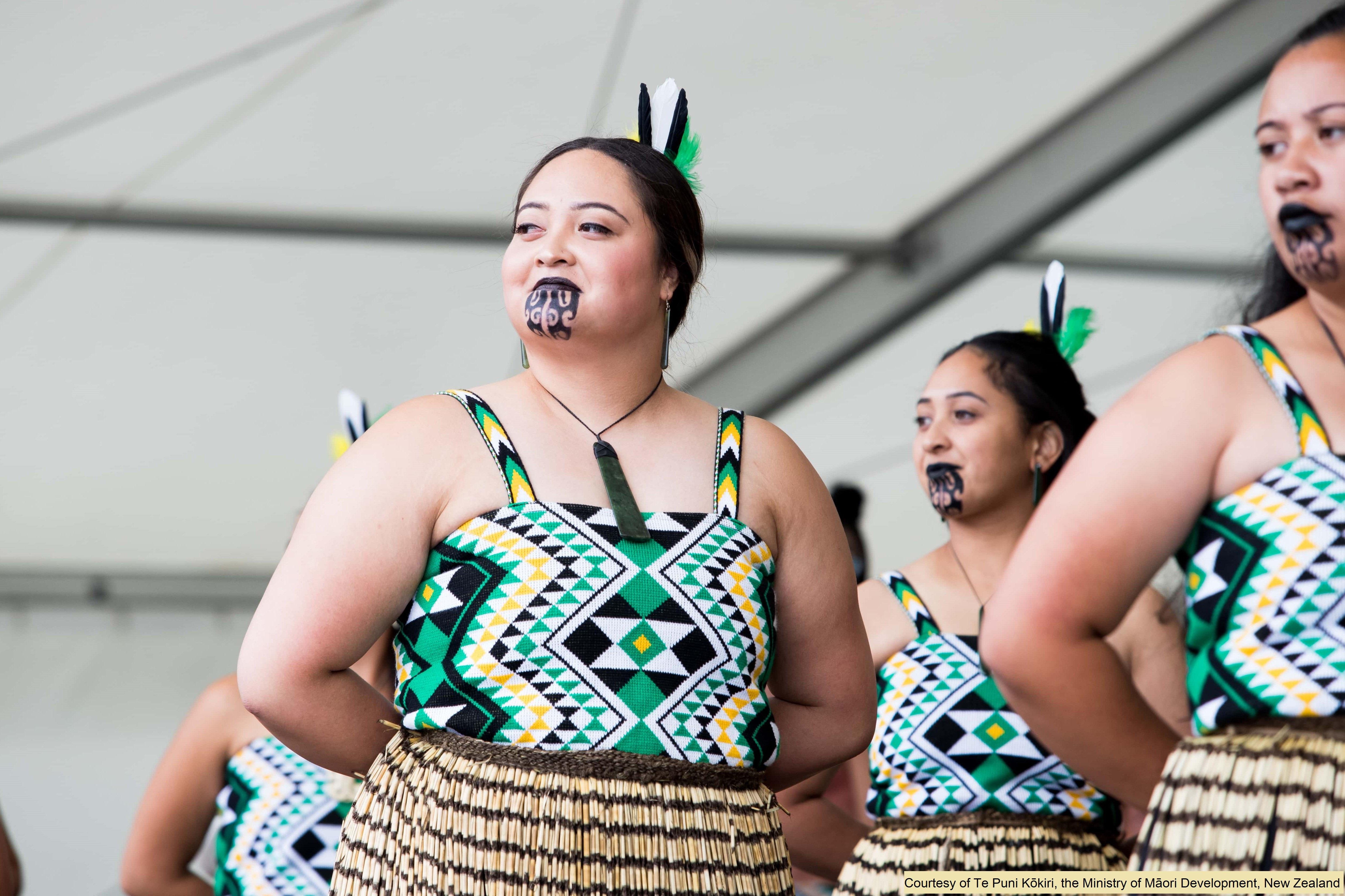 Kapa Haka performers at Te Ra o te Raukura Festival 2018(600k).jpg