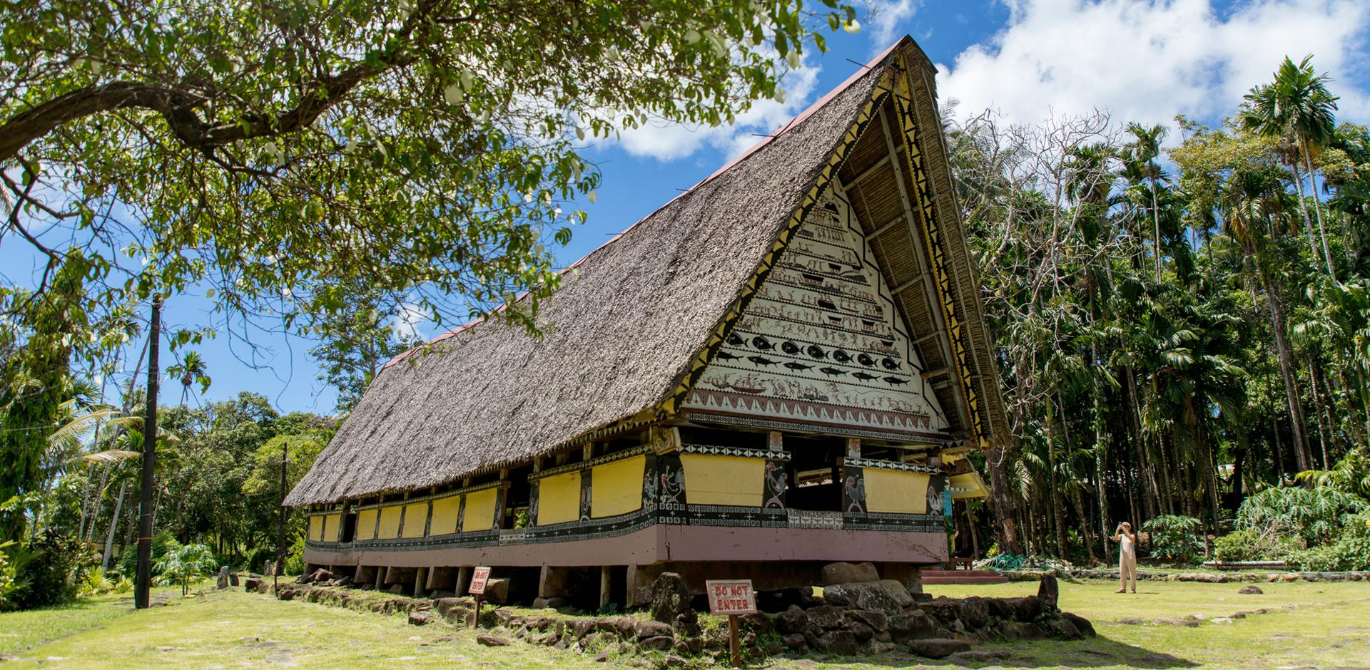 帛琉傳統男人會所 帛琉觀光管理局提供