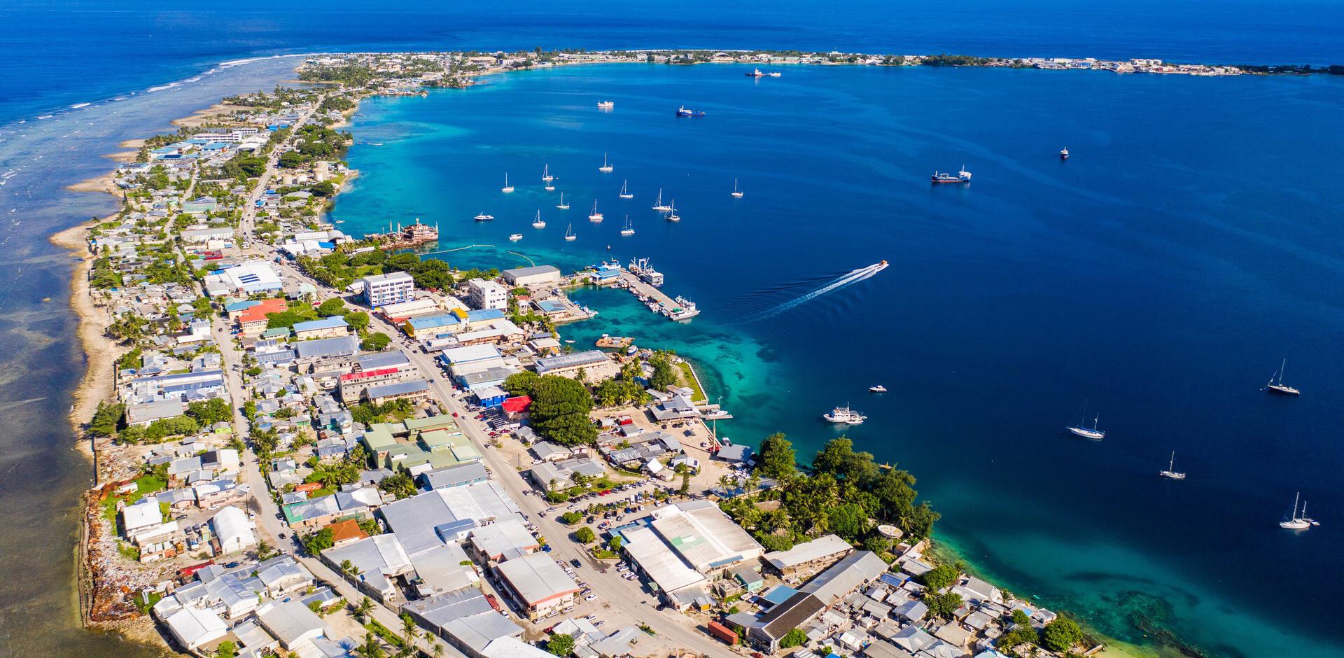 馬久羅環礁一景